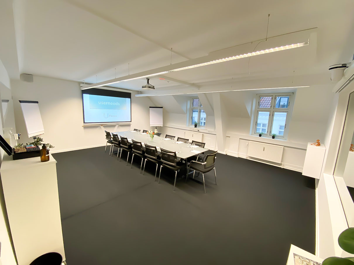 Userneeds – focus group room 3