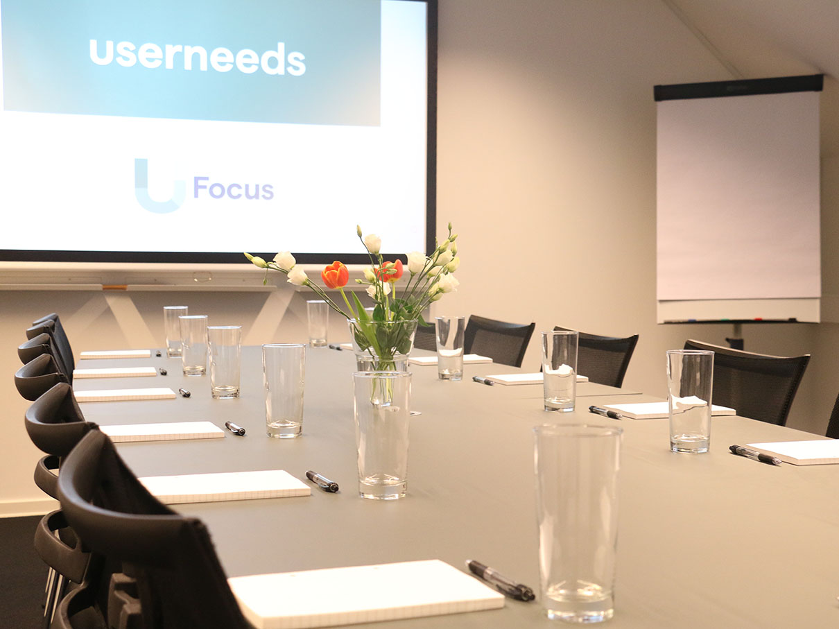 Userneeds – focus group room 5