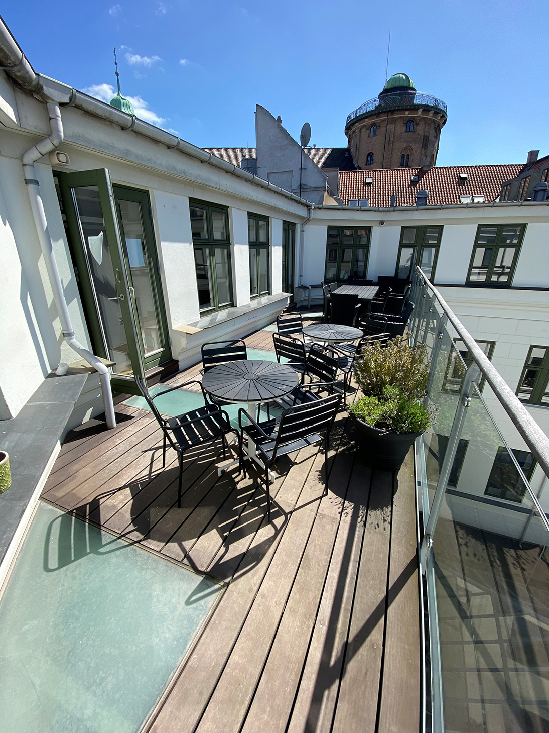 Userneeds – focus group – terrasse
